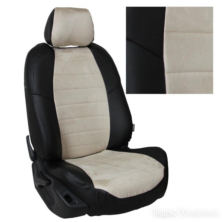 Чехлы из алькантары на Nissan Qashqai 2 (2014-2021) Черный + Бежевый по цене 7500₽ - Аксессуары для салона, фото 0