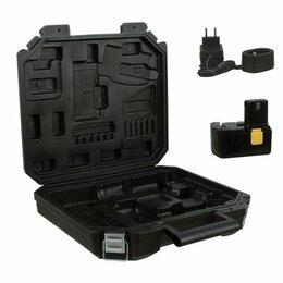 Шуруповерты - Дрель-шуруповерт аккумуляторная FIT CD-12EC (80134), 0