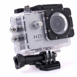 Видеокамеры - Action камера серая, 0