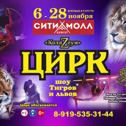 Шоу, мюзиклы - Шоу тигров и львов цирк шапито Колизеум, 0