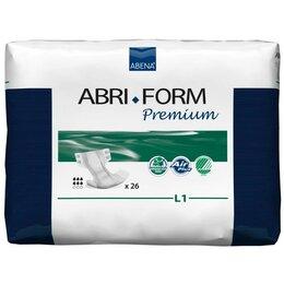 Прокладки и тампоны - Подгузники для взрослых Abri-Form L1 Premium, 26 шт, 0