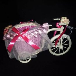 Велосипеды - Велосипед с украшенной коляской для топиария, 0