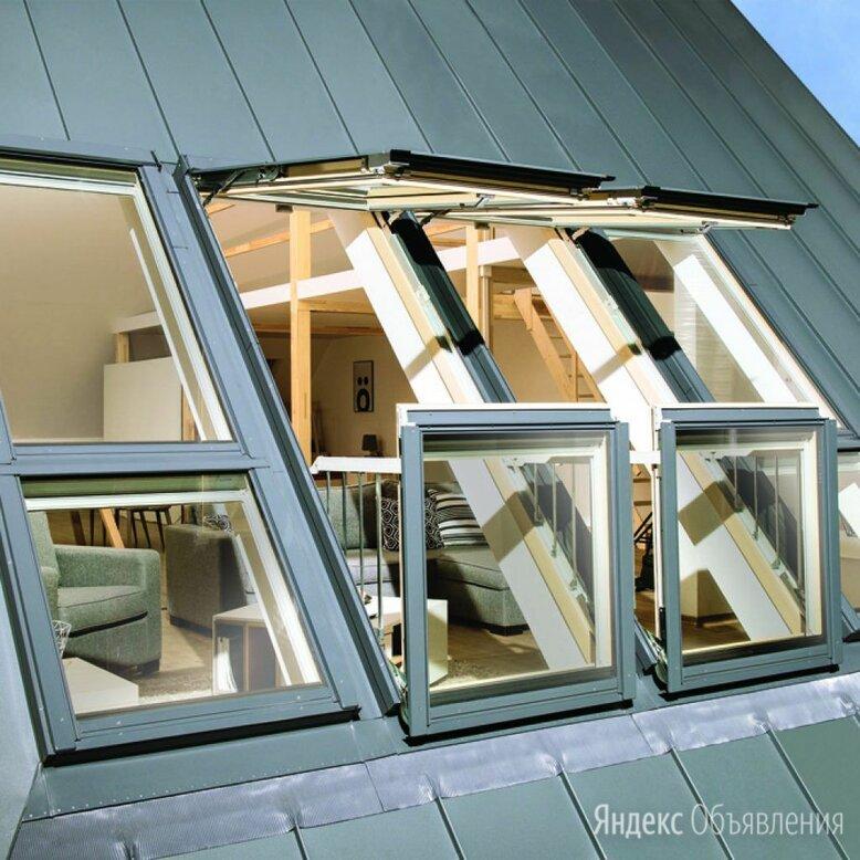 Окно-балкон fakro fgh-v p2 galeria по цене 263400₽ - Окна, фото 0