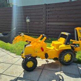 Машинки и техника - Детский педальный трактор самосвал 800056568, 0