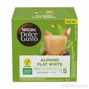Кофе в капсулах Nescafe Dolce Gusto Almond Flat White по цене 350₽ - Продукты, фото 0