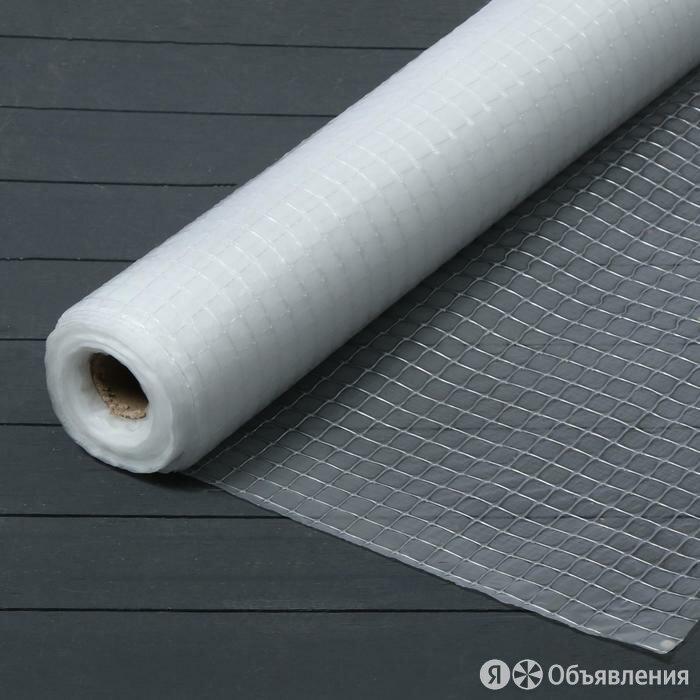 Плёнка полиэтиленовая, армированная леской, толщина 100 мкм, 2 x 25 м, УФ по цене 1798₽ - Изоляционные материалы, фото 0