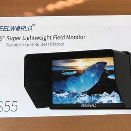 """Аксессуары для видеокамер - Накамерный монитор 5.5"""" Feelworld S55, 0"""