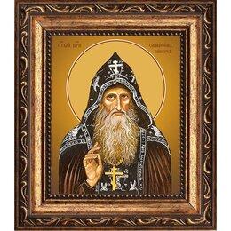 Картины, постеры, гобелены, панно - Сампсон (Сиверс) преподобный иеросхимонах. Икона на холсте., 0