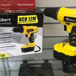 Дрели и строительные миксеры - Дрель-шуруповерт Kolner KCD 12M, 0
