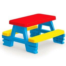Столы - Стол-пикник для 4 детей, 78х71х43 см, 0
