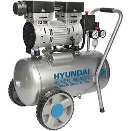 Воздушные компрессоры - Компрессор Hyundai, 50 л 300 л/мин, 2 кВт, 0