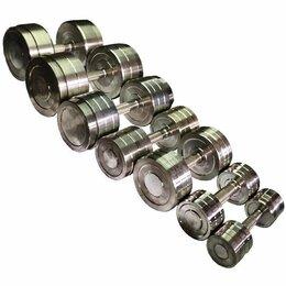 Изоляционные материалы - Гантельный ряд, гантели 151,5 кг. Изгот. и др.вес, 0