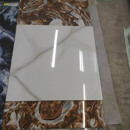 Плитка из керамогранита - Керамогранит глянцевый производства Индия 60*120 венато Бьянко, 0