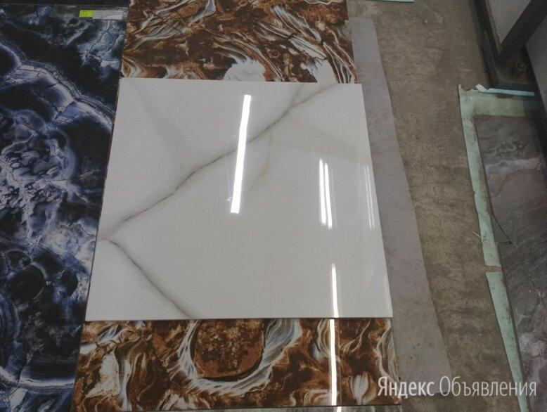 Керамогранит глянцевый производства Индия 60*120 венато Бьянко по цене 950₽ - Плитка из керамогранита, фото 0