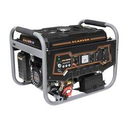 Электрогенераторы и станции - Генератор бензиновый Carver PPG-3900AE, 0