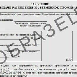Прочие услуги - Заявления на РВП, ВНЖ, Гражданство РФ, квоту, НРЯ, 0