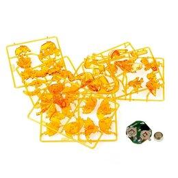 """Рукоделие, поделки и сопутствующие товары - Пазл 3D """"Динозавр"""", 50 деталей 2 цвета МИКС 1025229, 0"""