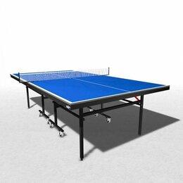 Столы - Складной теннисный стол wips Master Roller Compact, 0