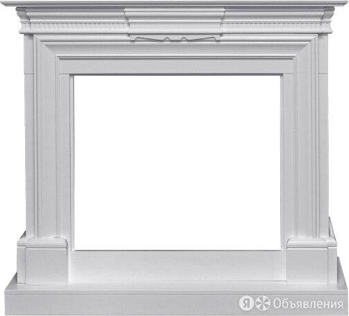 Портал Royal Flame Chelsea, белый для очага Jupiter FX New по цене 27920₽ - Наборы и аксессуары для каминов и печей, фото 0