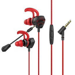 Наушники и Bluetooth-гарнитуры - Проводные наушники с микрофоном внутриканальные Hoco M45 Promenade universal,..., 0