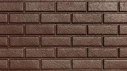 """Фасадные панели - облицовочная фасадная панель """"кирпичек"""", 0"""