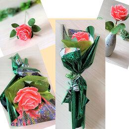 Мыло - Мыло ручной работы, ароматная роза, подарок комплимент, 0