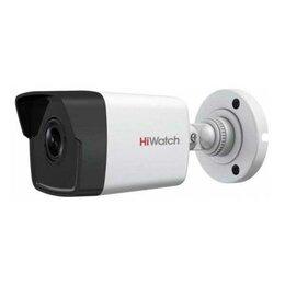 Готовые комплекты - Видеокамера IP HikVision HiWatch DS-I400(С) 4mm, 0