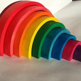 Развивающие игрушки - Монтессори радуга игрушка, 0