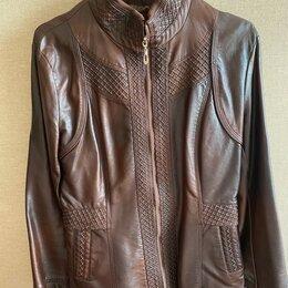 Куртки - Кожаная куртка ( кожзам ) , 0