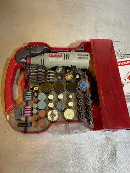 Наборы электроинструмента - Гравер электрический  ЗУБР ЗГ-130ЭК, 0
