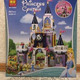 Конструкторы - Конструктор princess волшебный замок золушки 10892 (аналог), 587дет, 0