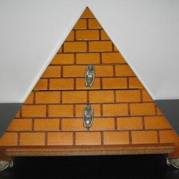 """Настольные игры - Шахматы (Комплект 3 игры) Пирамида """"Египет"""" Vanbo, 0"""
