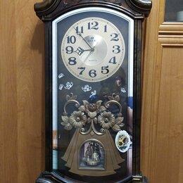 Часы настенные - Настенные часы с боем rhythm cmj462cr06, 0