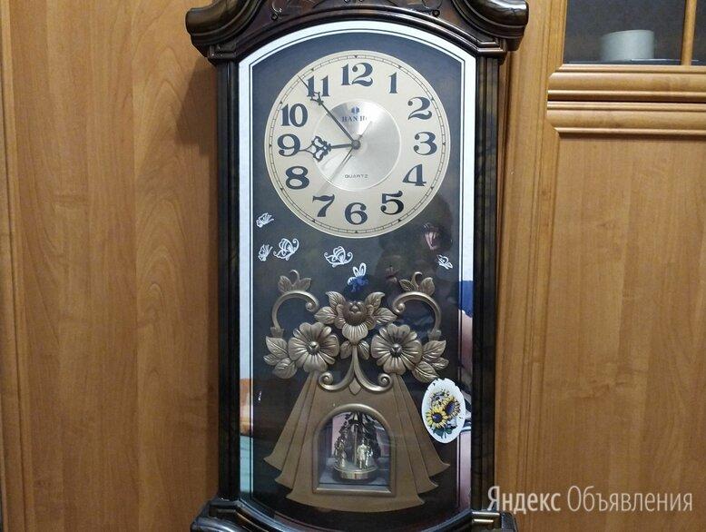Настенные часы с боем rhythm cmj462cr06 по цене 1000₽ - Часы настенные, фото 0