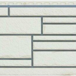 Фасадные панели - Фасадная панель Grand Line Камелот Премиум Пломбир, 0