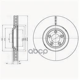 Тормоза - Диск Торм.(1шт В Уп)Xf/Xj/Xk/F-Type 2009 => Delphi арт. BG9102C, 0