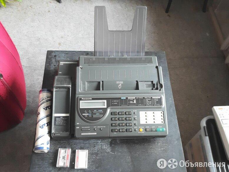 Телефон факс автоответчик Panasonic KX-F390BX по цене 1500₽ - Факсы, фото 0
