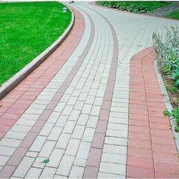 Тротуарная плитка, бордюр - Бордюр Тротуарный 1000*200*80, 0