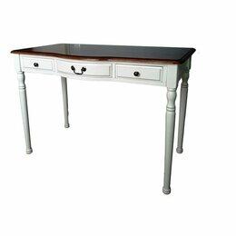 Компьютерные и письменные столы - Стол письменный с ящиками Marcel & Chateau H2716 (D71+M01), 0