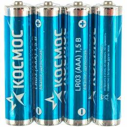 Батарейки - Батарейка КОСМОС LR03 уп.96шт, 0