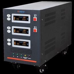 Источники бесперебойного питания, сетевые фильтры - Стабилизатор напряжения Энергия Hybrid 9000/3, 0