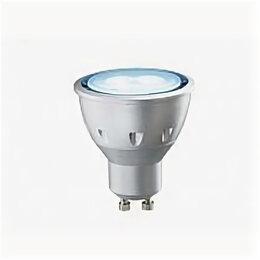 Лампочки - Лампа светодиодная Paulmann GU10 5W холодный голубой 28214, 0