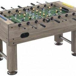 Игровые столы - Настольный футбол (кикер) «Champion Pro» (140x76x87 см, серый дуб) ), 0