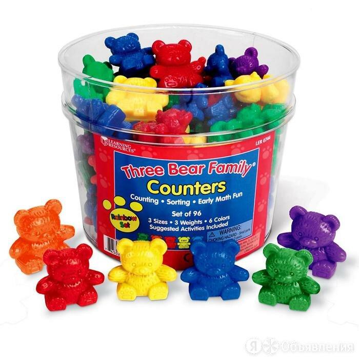 Игровой набор фигурок 'Семейка медведей', 96 элементов по цене 3909₽ - Игровые наборы и фигурки, фото 0