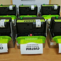 Принтеры чеков, этикеток, штрих-кодов - Термопринтер custom vkp-80ii (с держателем бумаги), 0