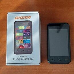 Мобильные телефоны - Смартфон digma first xs350 2g, 0