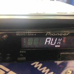 Автоэлектроника и комплектующие - Автомобильная магнитола с CD MP3 Pioneer DEH-2220, 0