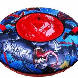 Тюбинги - Тюбинг «Человек Паук» с круговым дизайном (арт. TSM-100/1) диаметр 100 см., 0