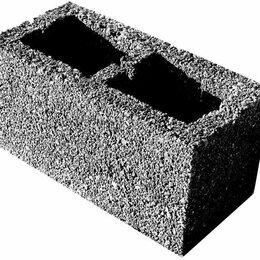 Строительные блоки - Блок керамзитобетонный 390*190*188мм, 0