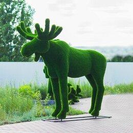 Садовые фигуры и цветочницы - Топиар скульптура Лось, 0